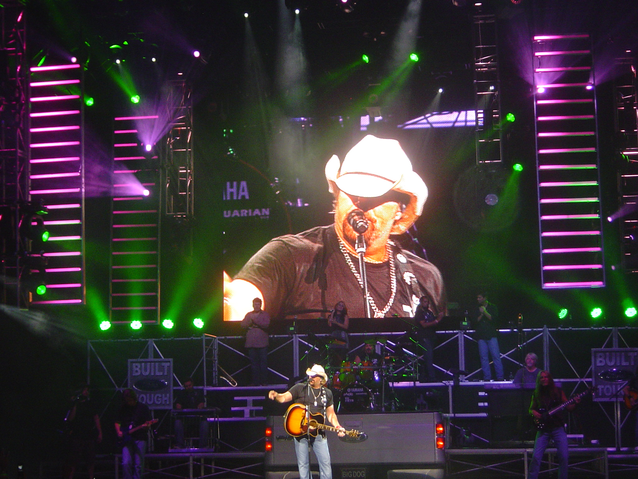Toby Keith Harveys Outdoor Arena Lake Tahoe