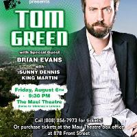 Tom Green Vogue Theatre Bc
