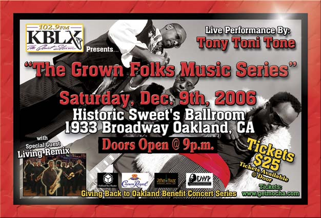 Concert Tony Toni Tone