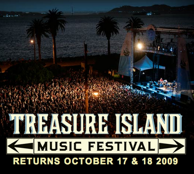 Tour Dates 2011 Treasure Island Music Festival