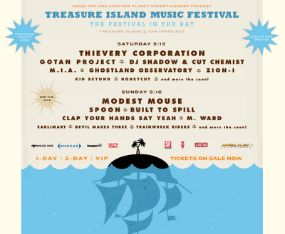 Treasure Island Music Festival San Francisco