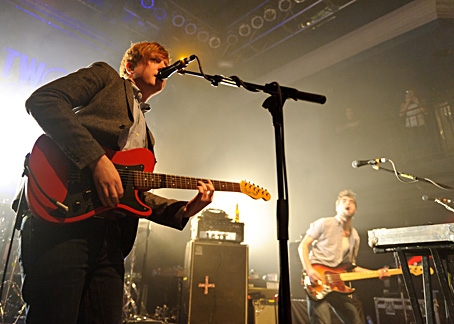 Two Door Cinema Club 2011 Show