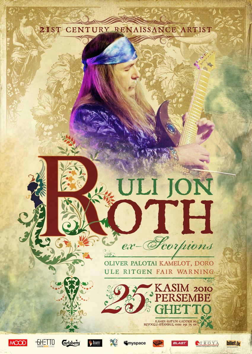 Uli Jon Roth Brixton South Bay Tickets