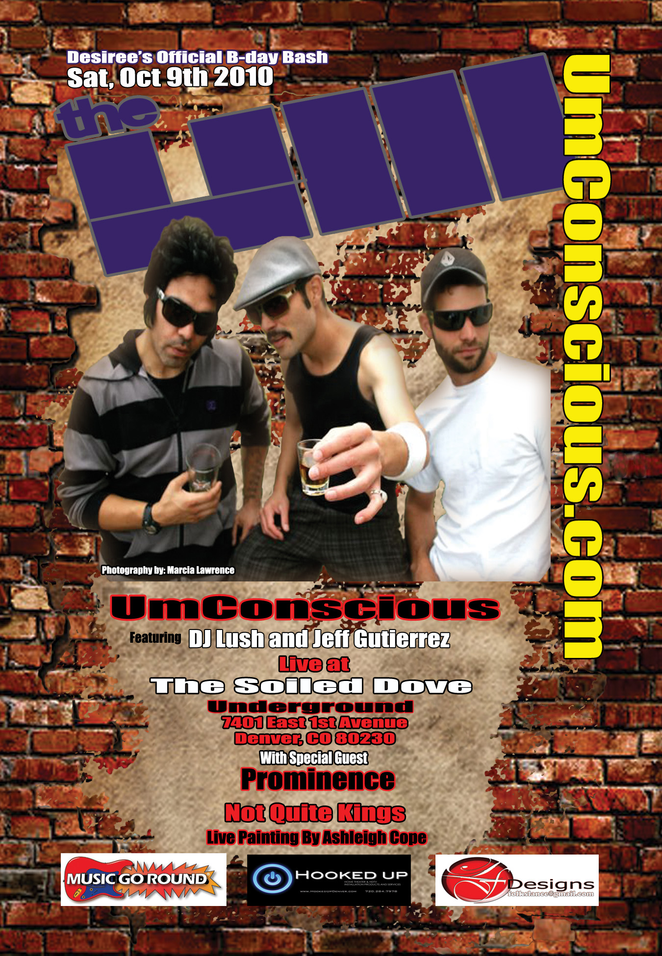 Tour Dates 2011 Umconscious