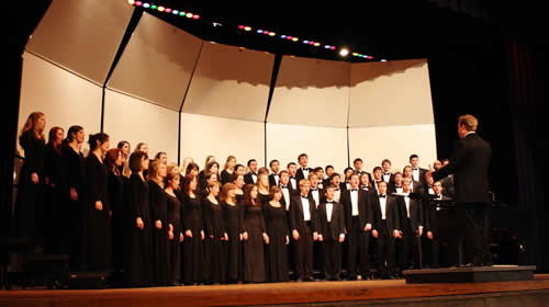 2011 University Singers Dates