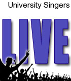University Singers Sursa Performance Hall Tickets