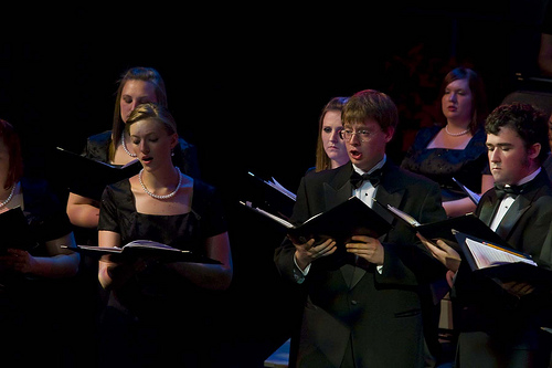 University Singers 2011