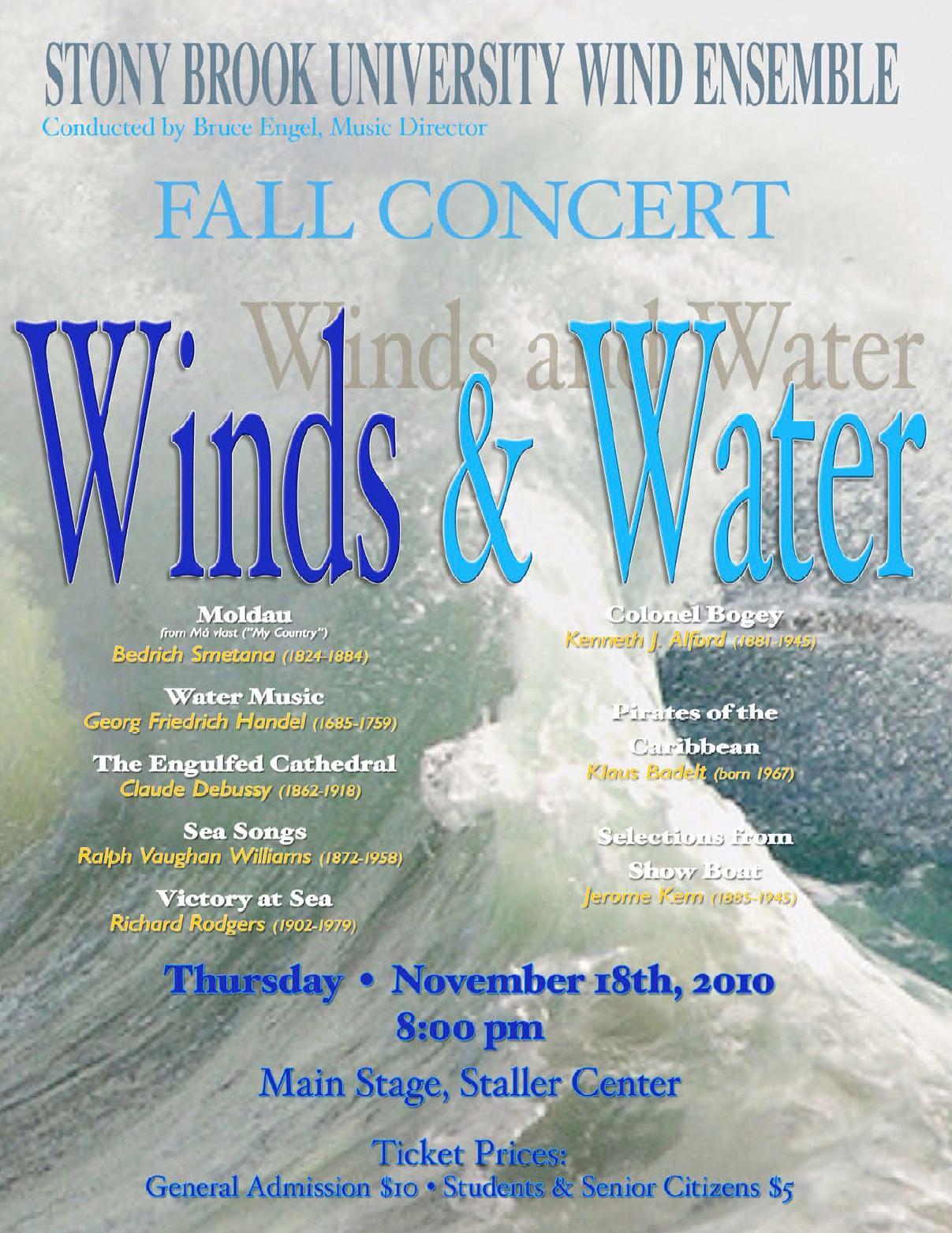 University Wind Symphony Fullerton Tickets