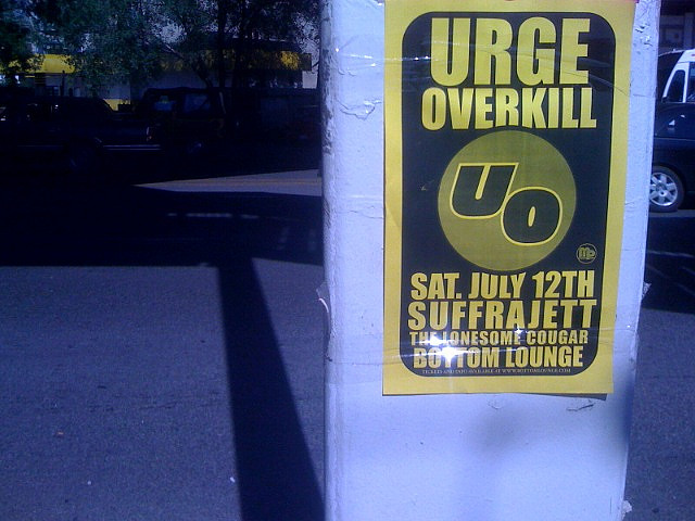 Urge Overkill 2011 Dates