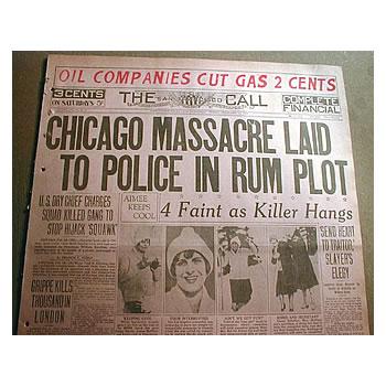 Valentines Day Massacre Houston TX
