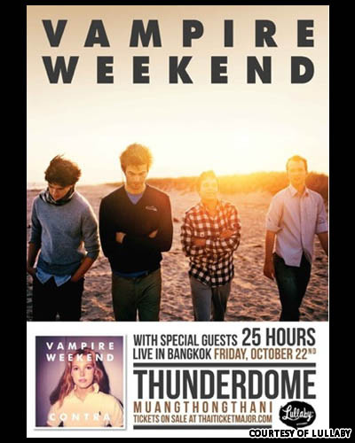 Vampire Weekend Tickets Boston
