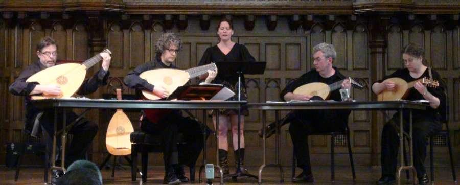 Venere Lute Quartet Mees Hall