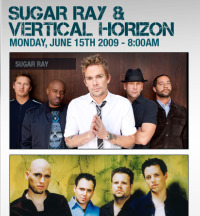 Tickets Show Vertical Horizon
