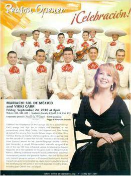 Vikki Carr 2011 Dates Tour
