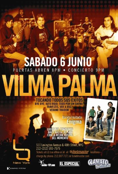 Vilma Palma Tickets Bay Area Palladium