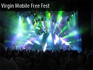 Virgin Mobile Festival Tickets Merriweather Post Pavilion