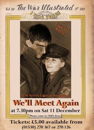 We Ll Meet Again Tickets Spa Pavilion Theatre