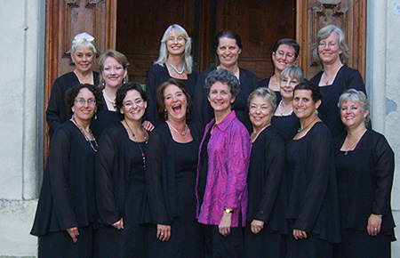 Women S Ensemble On The Radio Glendora
