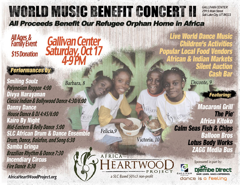 World Music Concert Morgantown WV