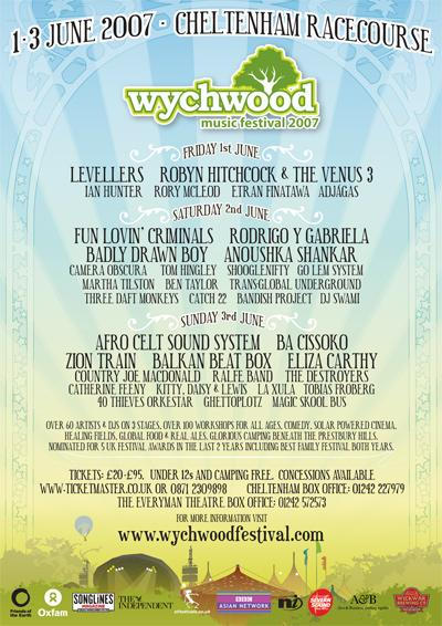 Wychwood Music Festival Concert