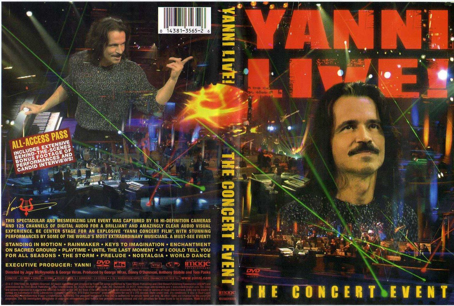 Show Yanni Tickets