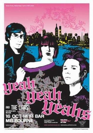 Dates 2011 Yeah Yeah Yeahs