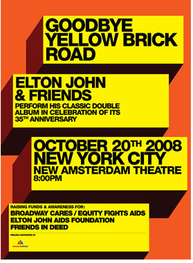 Yellow Brick Road Tour Dates 2011