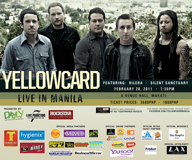 Show 2011 Yellowcard