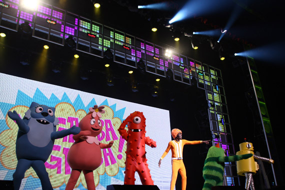 Yo Gabba Gabba Rabobank Theater Tickets