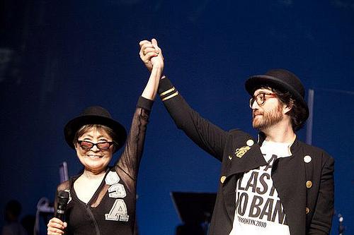 Dates Yoko Ono Tour 2011