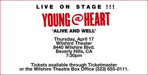 Young At Heart Tickets Boston