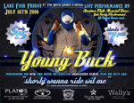 Tour Young Buck 2011 Dates