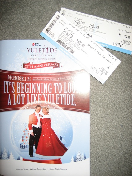 Tickets Yuletide Celebration