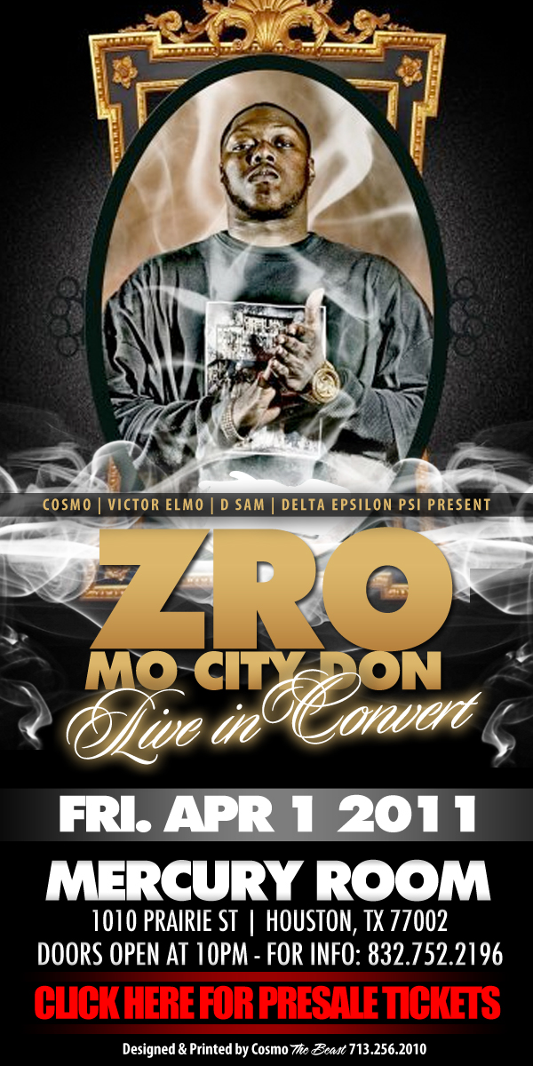 Tour 2011 Z Ro Dates