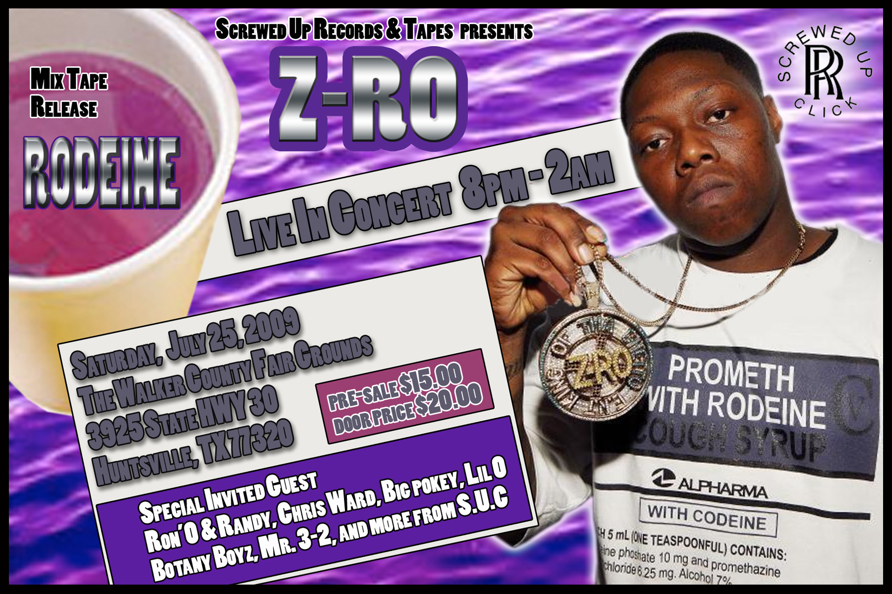 Z Ro Tickets Aces Lounge