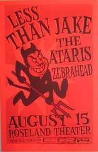 Zebrahead Tickets Talking Heads