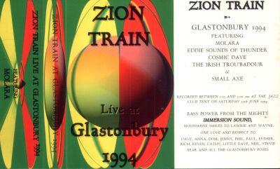Tickets Zion Train
