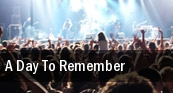 A Day To Remember Backstage Live tickets