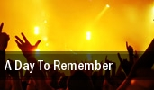 A Day To Remember The Fillmore Miami Beach At Jackie Gleason Theater tickets