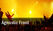 Agnostic Front The Chance Theater tickets