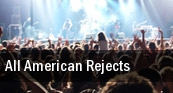 All American Rejects Braden Auditorium tickets