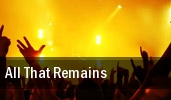 All That Remains Orbit Room tickets