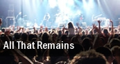 All That Remains Sunken Gardens tickets