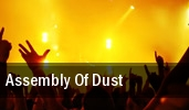 Assembly Of Dust The Westcott Theatre tickets
