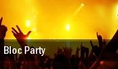Bloc Party Washington tickets