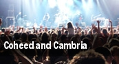 Coheed and Cambria Aragon Ballroom tickets