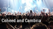 Coheed and Cambria Washington tickets