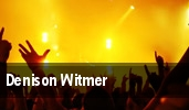 Denison Witmer tickets