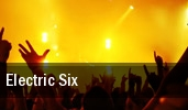 Electric Six Washington tickets