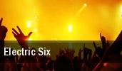 Electric Six Washington tickets